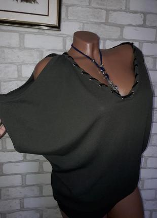 Morgan крутой свитерок с градиентом р с-л сток