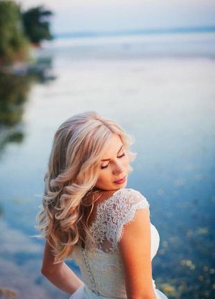Свадебное платье- трансформер 2-в-1
