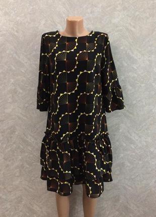 Платье с рюшами размер 12-14 next
