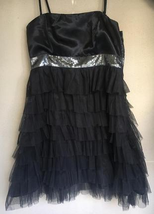 Нарядное маленькое  коктейльное платье only , 40