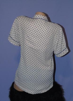 Трендовая рубашка в пижамном стиле от marks & spencer5 фото