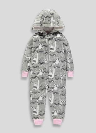 Нова тепла піжама-чоловічок matalan