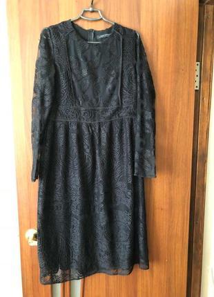 Красивое круживное платье полная распродажа вещей все без торга !