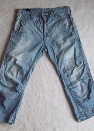 Капри джинс тонкие