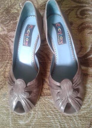 Туфли кожа размер 38