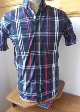 Рубашка клетку стиль розмір-37-38