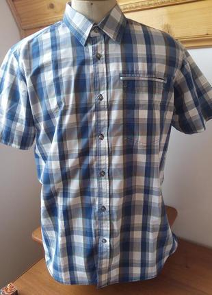 Рубашка клетка розмір-42-44