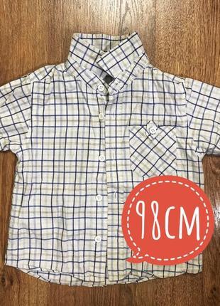 Отличная рубашка george на мальчика 2-3 года