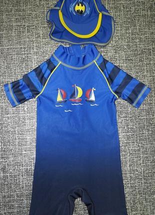 George солнцезащитный комплект кепка гидрокостюм детский купальный