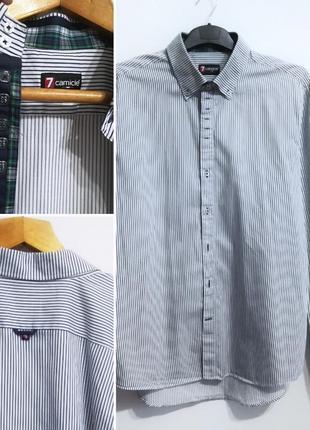 Рубашка премиум бренд 7 camicie (италия) xxl-3xl
