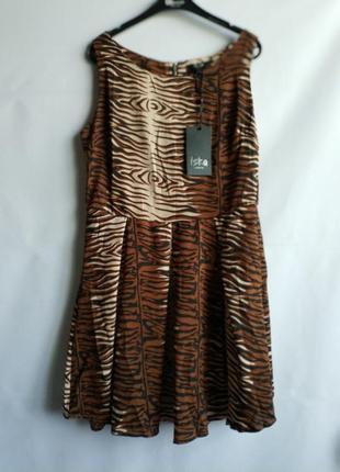 Женское летнее платье  английского бренда iska         сток из европы, l