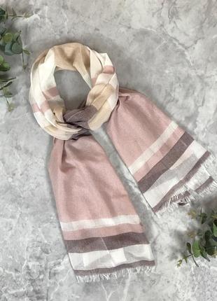 Стильный шарф в клетку  as1917159