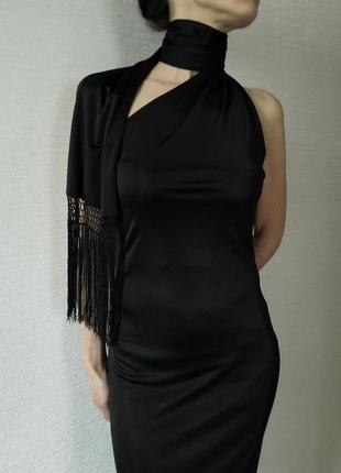 Платье коктейльное zara, р. м