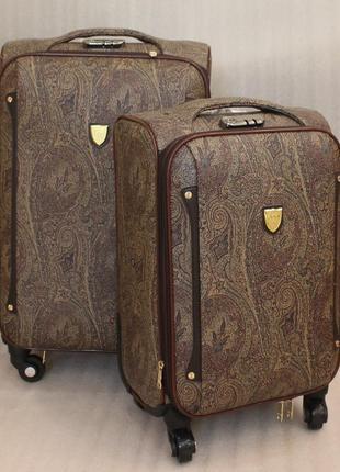 Чемодан, самолетный чемодан, валіза, эко кожа, комплект чемоданов