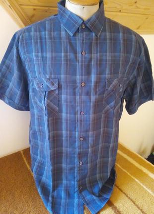 Рубашка клетка розмір-44