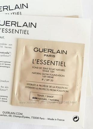 Новинка тонального  guerlain l*essential