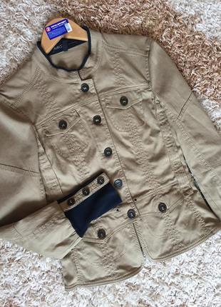 Marc cain оригінал!!! супер піджак з широким манжетом розмір s