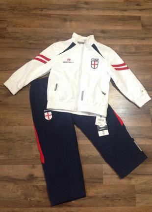 Спортивный костюм respect,4-5лет,рост 104-110,новый