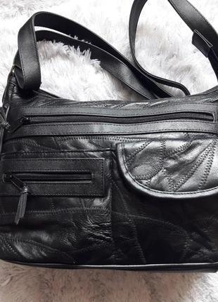 Кожаная сумочка!