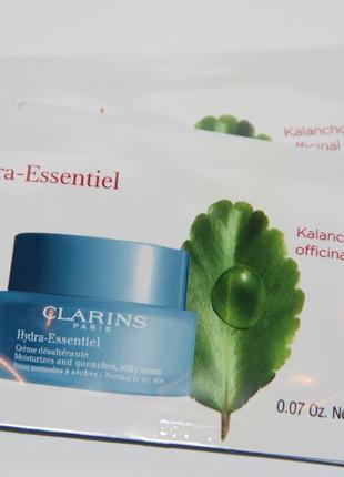 Clarins интенсивно увлажняющий гель для нормальной и комбинированной кожи hydra-essentiel