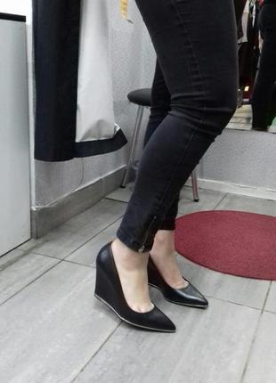 Кожанные туфли minelly