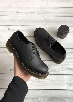 Туфли от dr.martens 1461 black virginia