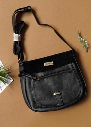 Элегантная сумка через плечо от известного французского дизайнера ted lapidus