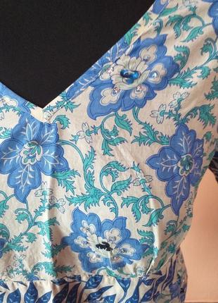 Красивая натуральная блуза туничка раз.14/162 фото