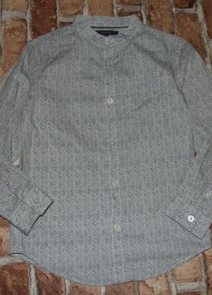 Рубашка хб 7-8лет автограф сток