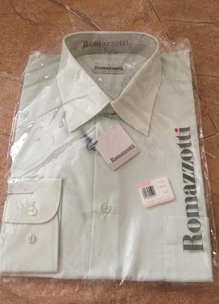 Рубашка оливкового цвета