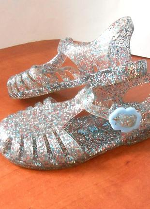 Детские силиконовые босоножки сандалии от бренда  nutmeg, р-р 23 код d2313