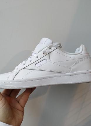 Кеды кроссовки reebok royal cmplt white cn7332 - оригинал, натуральная кожа.