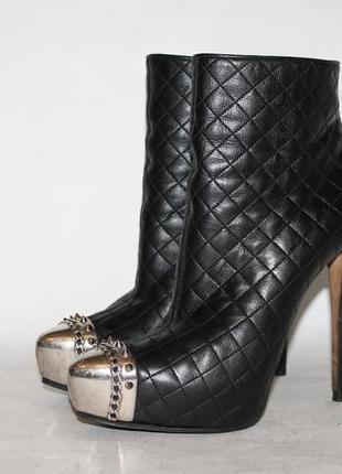 Le silla кожаные ботинки/ботильоны 39 размер