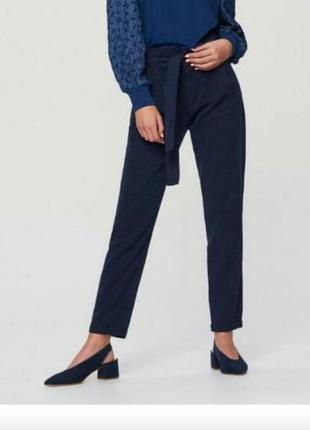 Актуальные брюки с поясом от reserved5 фото