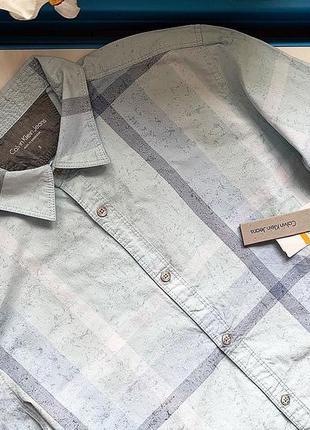 Мужская рубашка calvin klein  p s  новая с биркой
