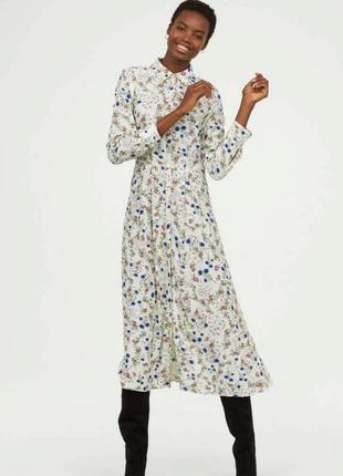 Красивейшее платье/рубашка, из гладкой вискозы.2 фото