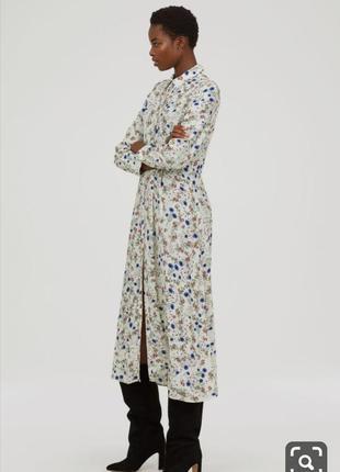 Красивейшее платье/рубашка, из гладкой вискозы.3 фото