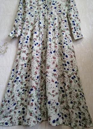 Красивейшее платье/рубашка, из гладкой вискозы.6 фото