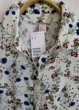 Красивейшее платье/рубашка, из гладкой вискозы.7 фото