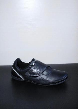 Оригинал lacoste lisse spm на липучках туфли кроссовки