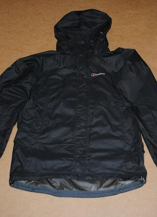 Berghaus gore-tex куртка мужская штормовка черная