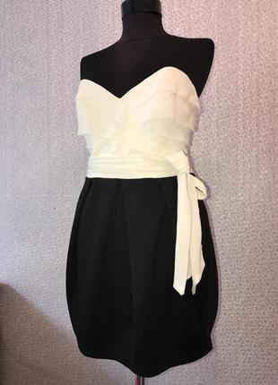 Очень красивое и нарядное платье бюстье от lipsy