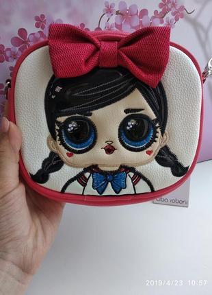 Красивенная  детская сумочка с героем лол