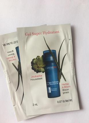 Clarins gel super hydratant гель легкий для лица