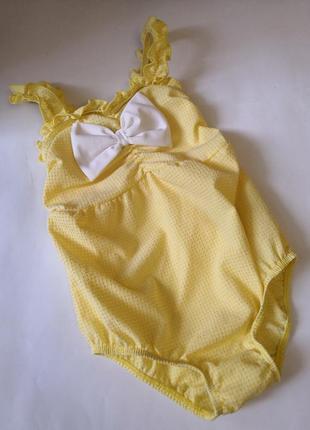 Брендовый купальный костюм monsoon, на 12-18 месяцев.
