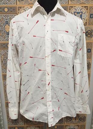 Рубашка мужская с длинным рукавом1 фото