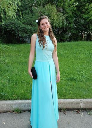Шикарное дизайнерское платье