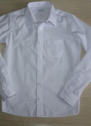 Школьная белая рубашка m&s 12-13 лет