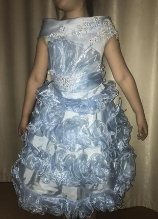 Сукня випускний садочок