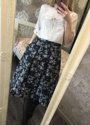 Юбка zara с карманами